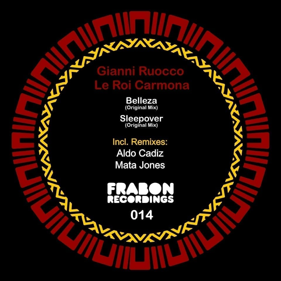 Frabon Recordings presents an EP by the South American duo Gianni Ruocco and Le Roi Carmona