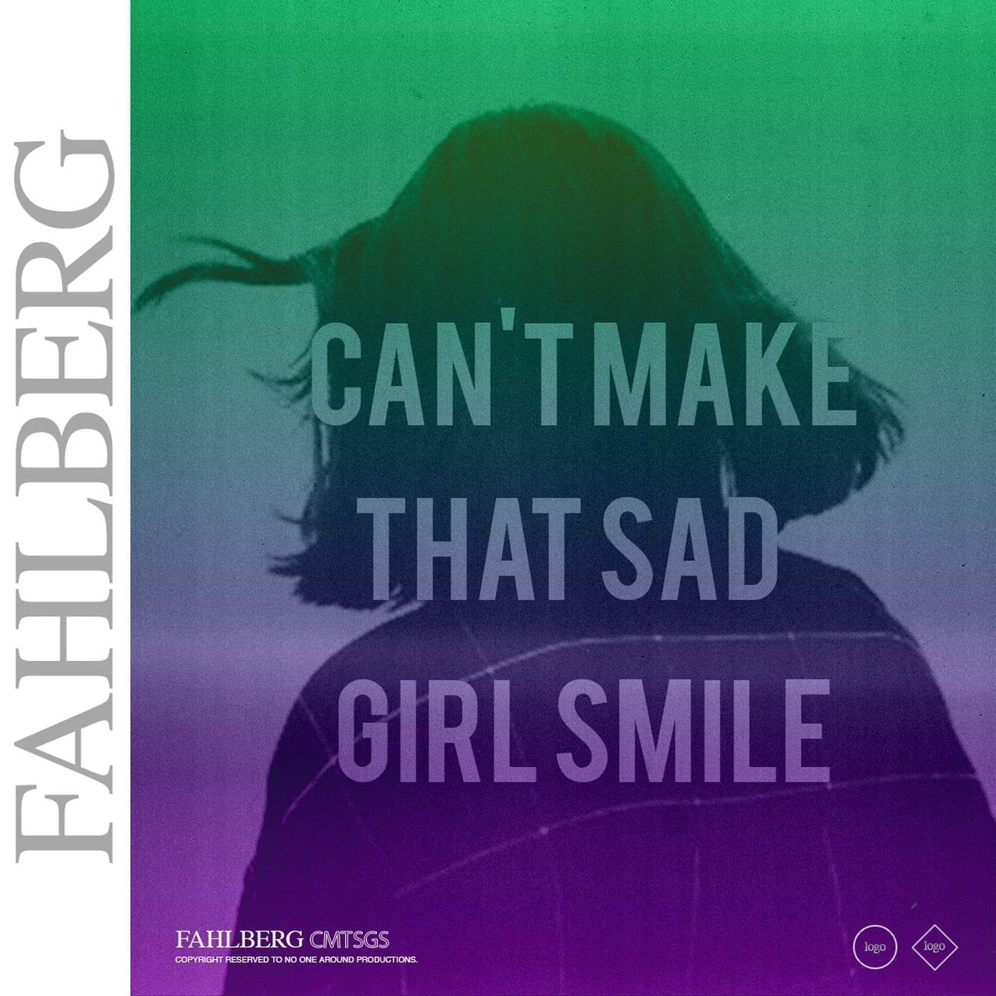 "Former PANG! member Fahlberg presents ""Can't Make That Girl Smile"""