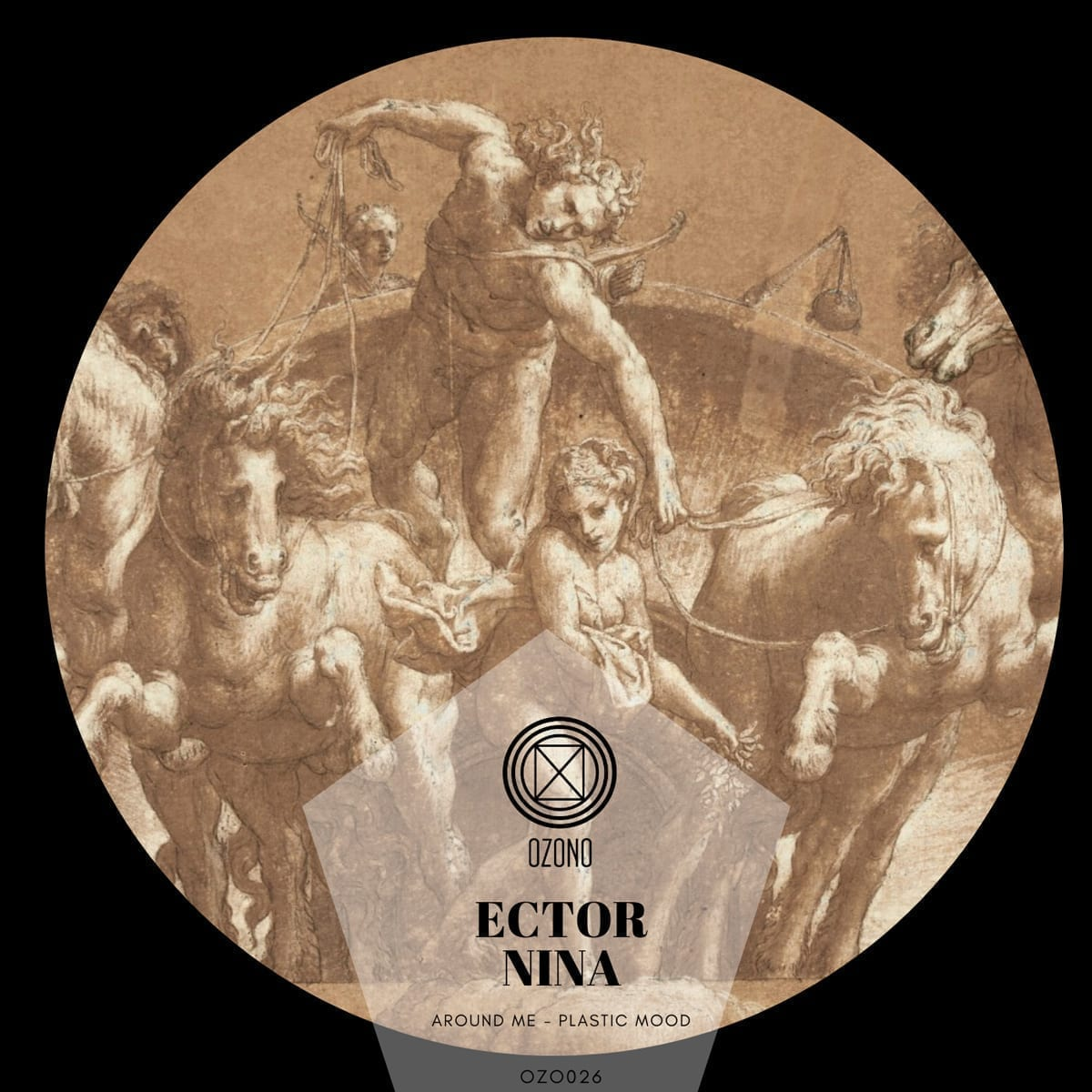 "Ector Nina presents ""Around me, Plastic Mood"" on Ozono Records"