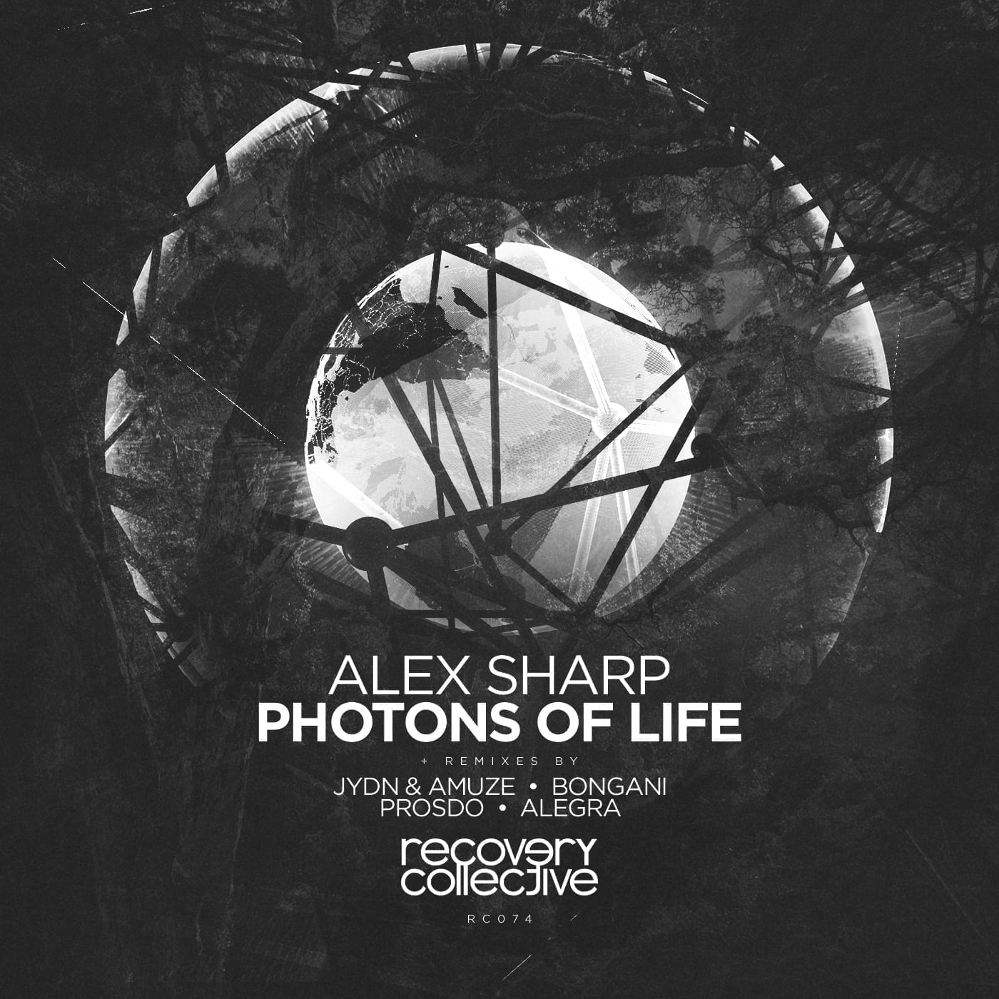 """Recovery Collective presents """"Photons Of Life"""" by Alex Sharp"""