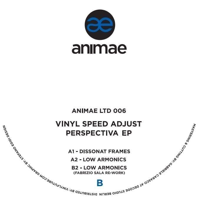 Vinyl Speed Adjust - Perspectiva EP [Animae] back