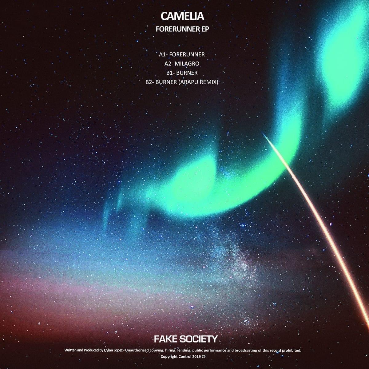 camelia - forerunner ep [fake society] back