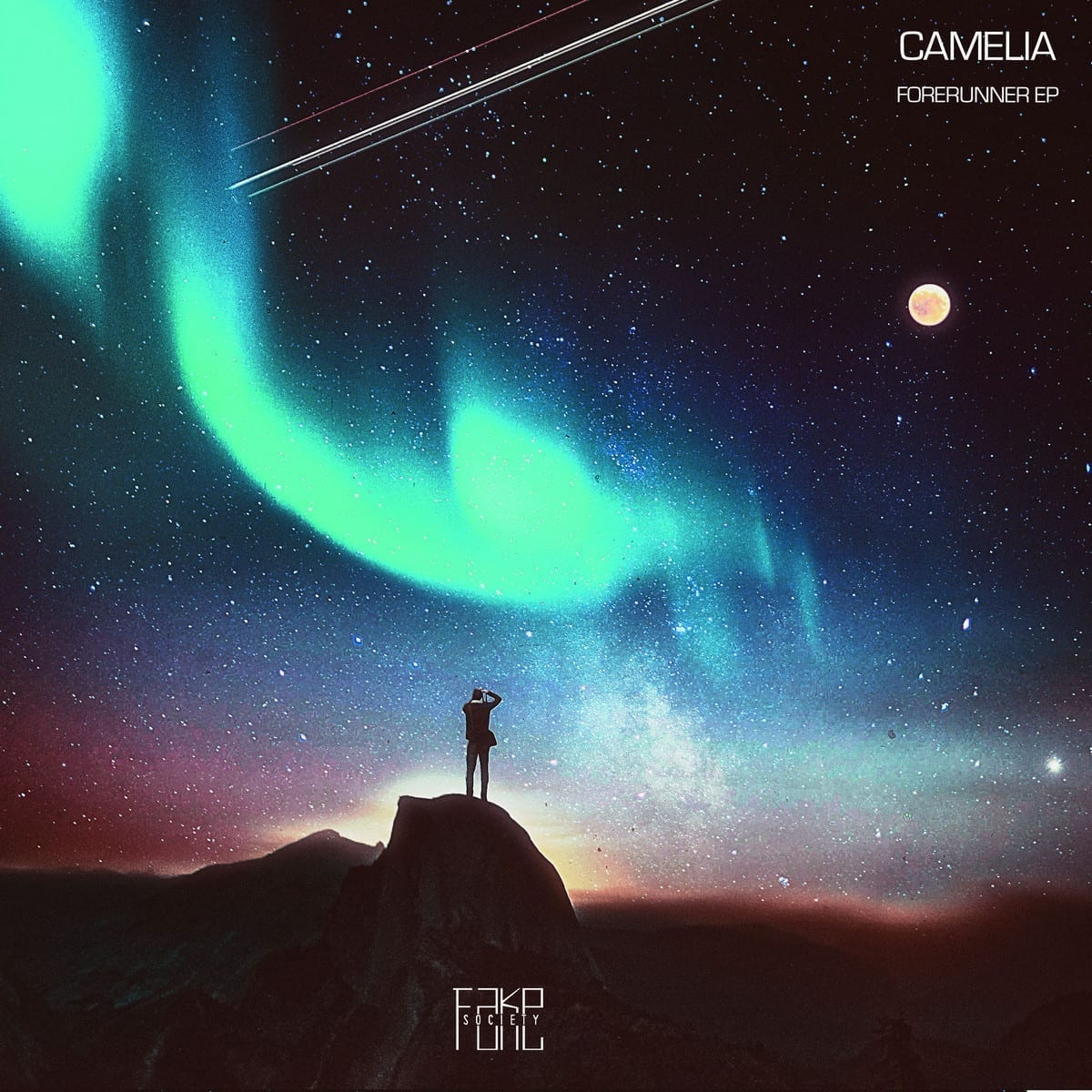 camelia - forerunner ep [fake society] front