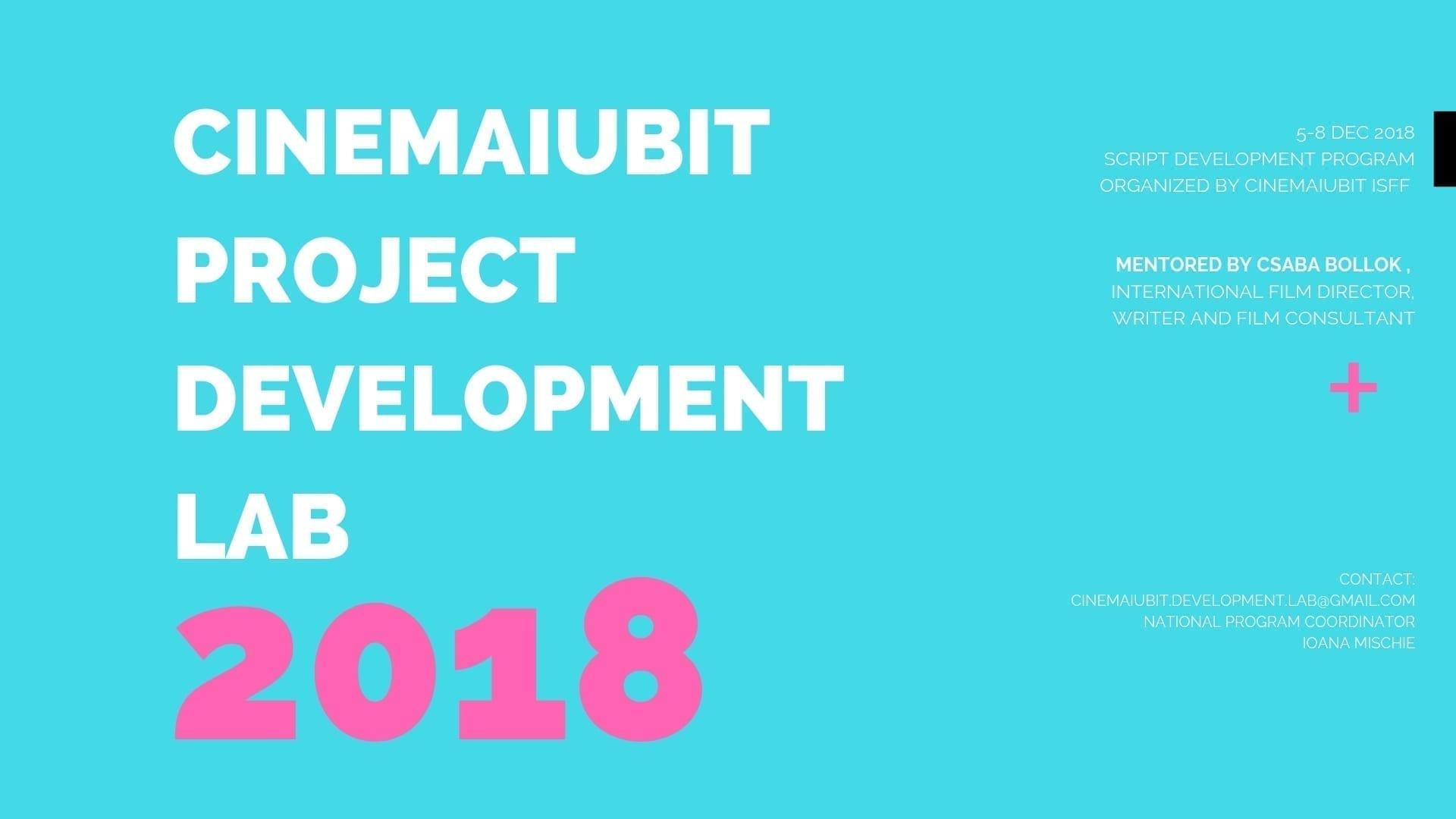 CineMAiubit Project Development Lab Announces the Selected Projects Entering The Script Development Marathon of 2018