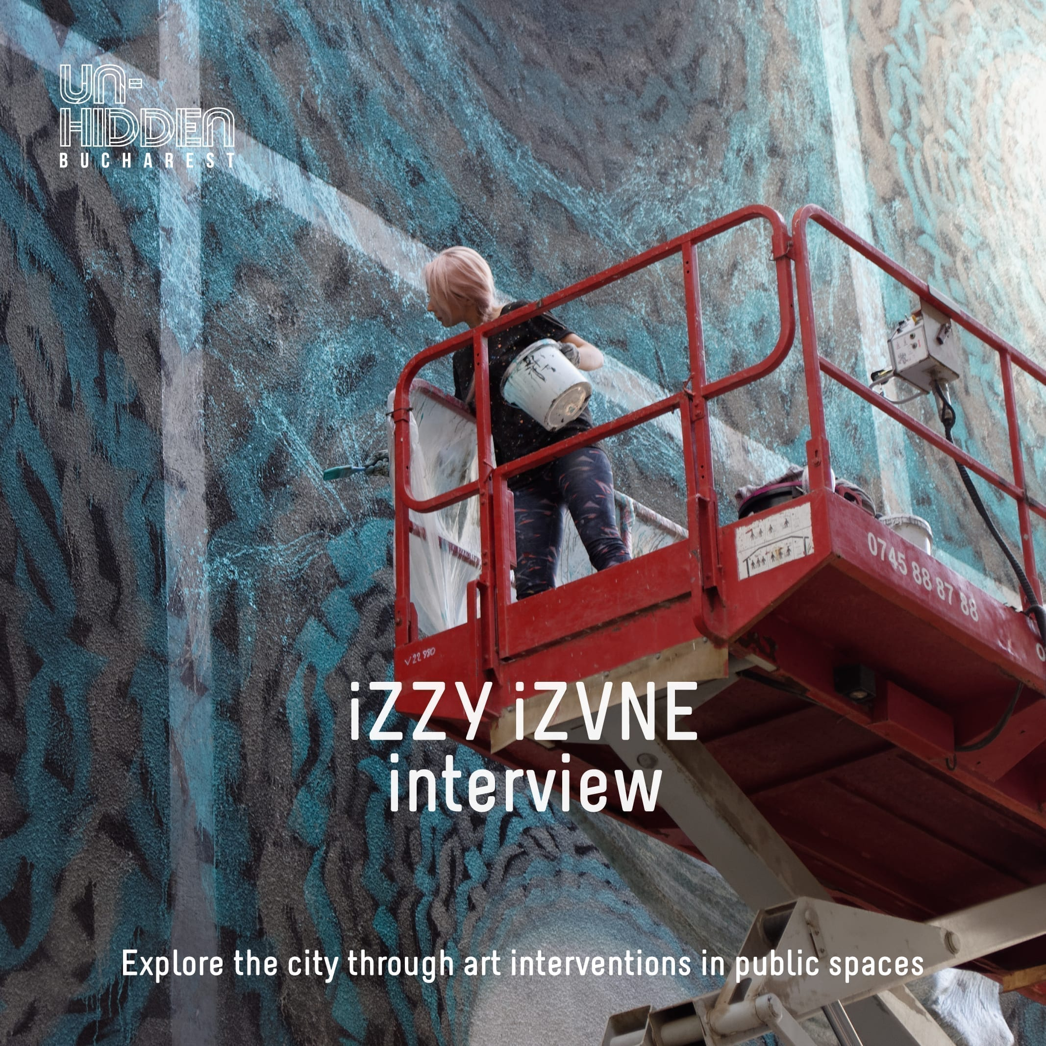 Interview with iZZY iZVNE - Un-hidden Bucharest
