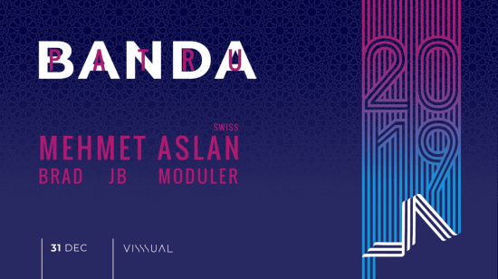 Revelion Banda 4! 3! 2! 1! w/ Mehmet Aslan/ JB/ Moduler/ Brad – Visssual