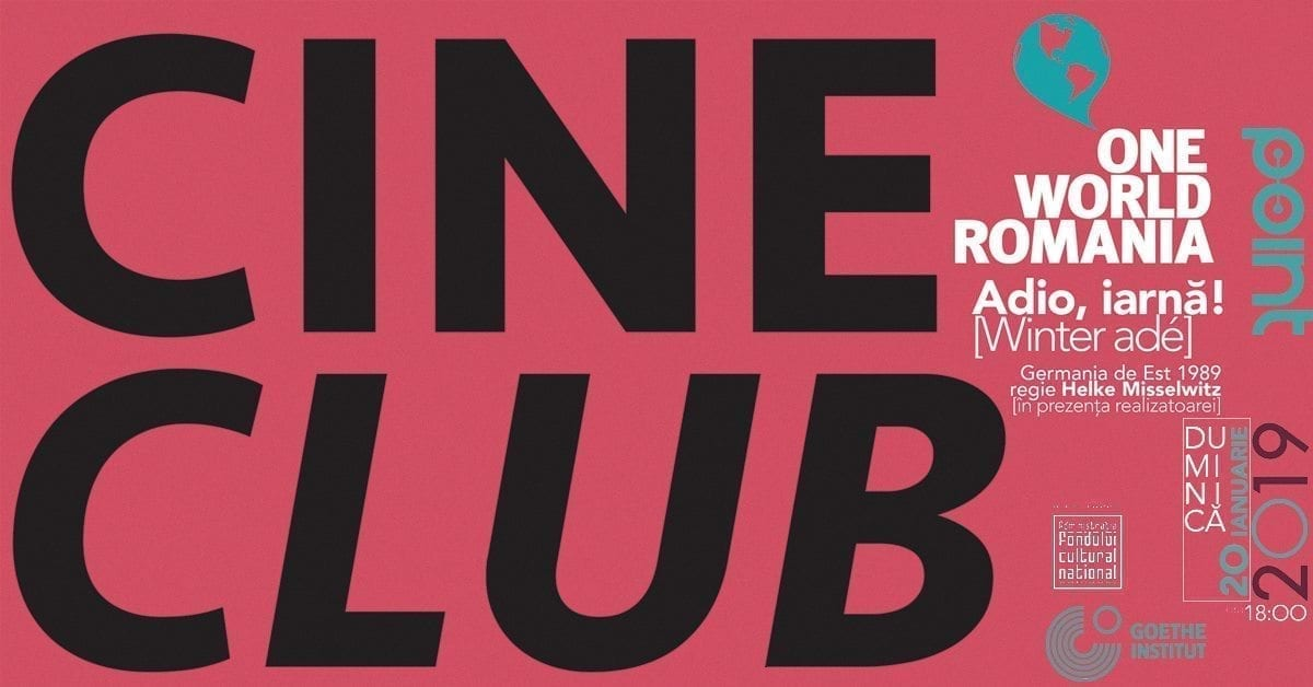 Cineclub One World Romania | Adio, iarnă!