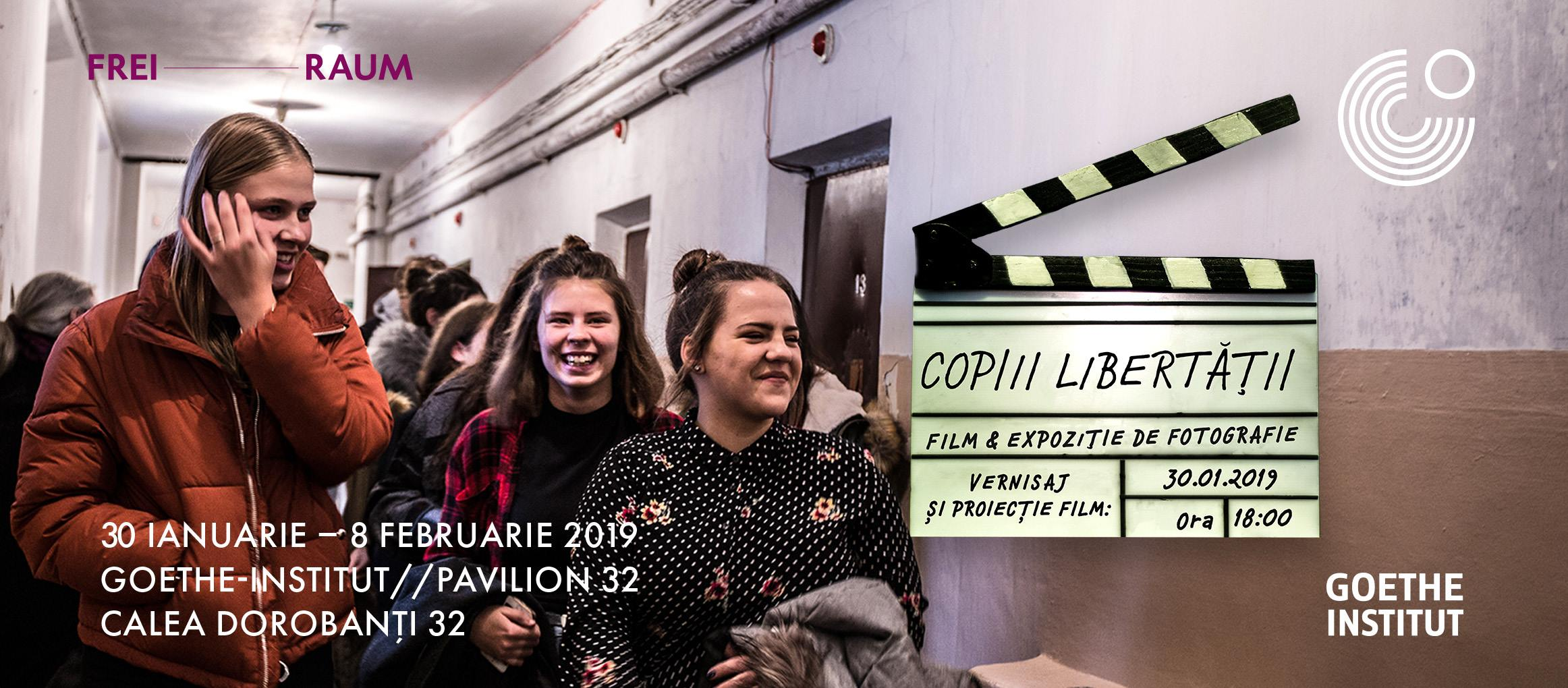 Copiii libertății- vernisaj și proiecție de film documentar