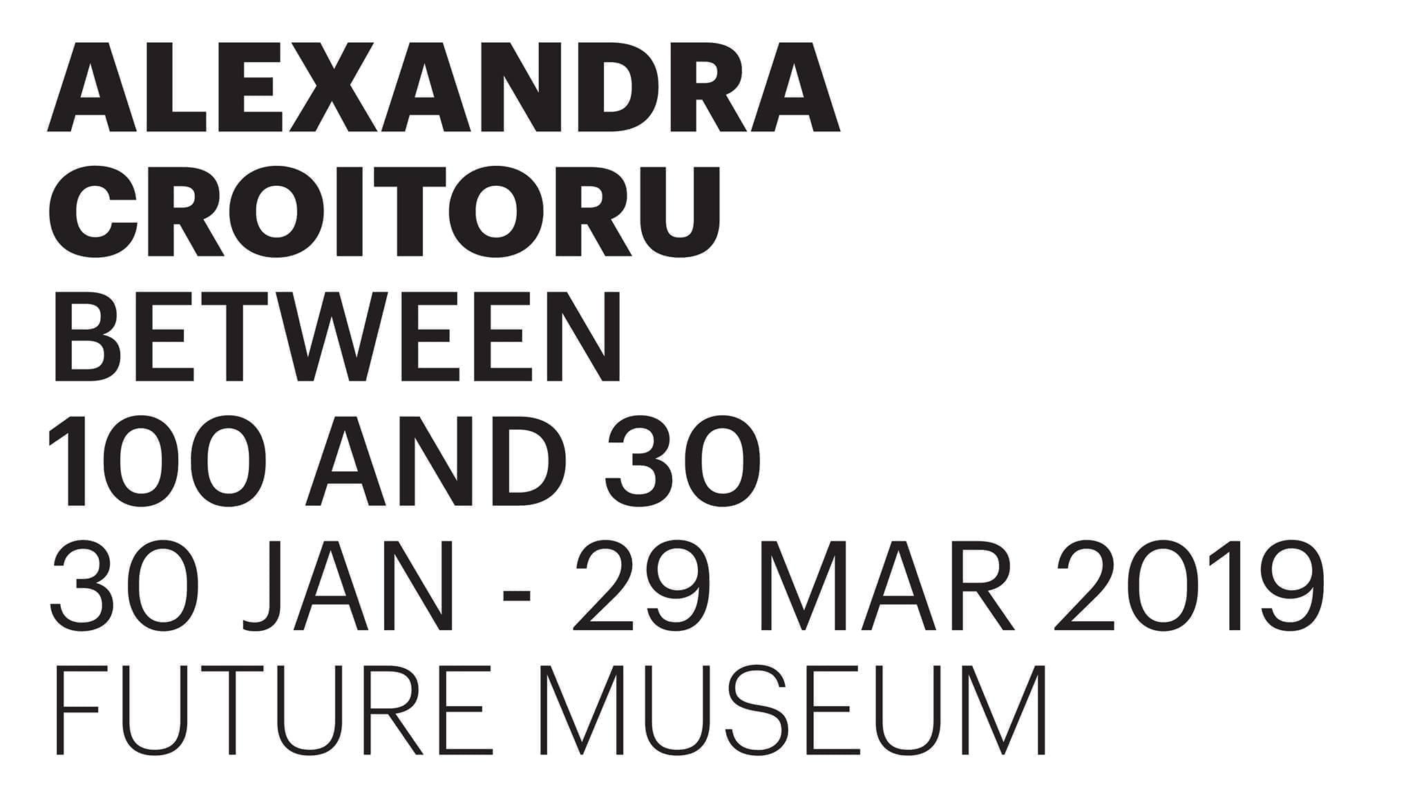 Alexandra Croitoru - Future Museum