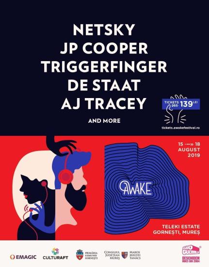 AWAKE 2019 - Netsky, JP Cooper and more @ Gornesti, Mures