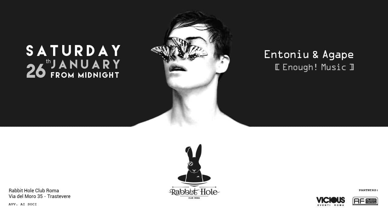 Entoniu & Agape @ Rabbit Hole Club Roma