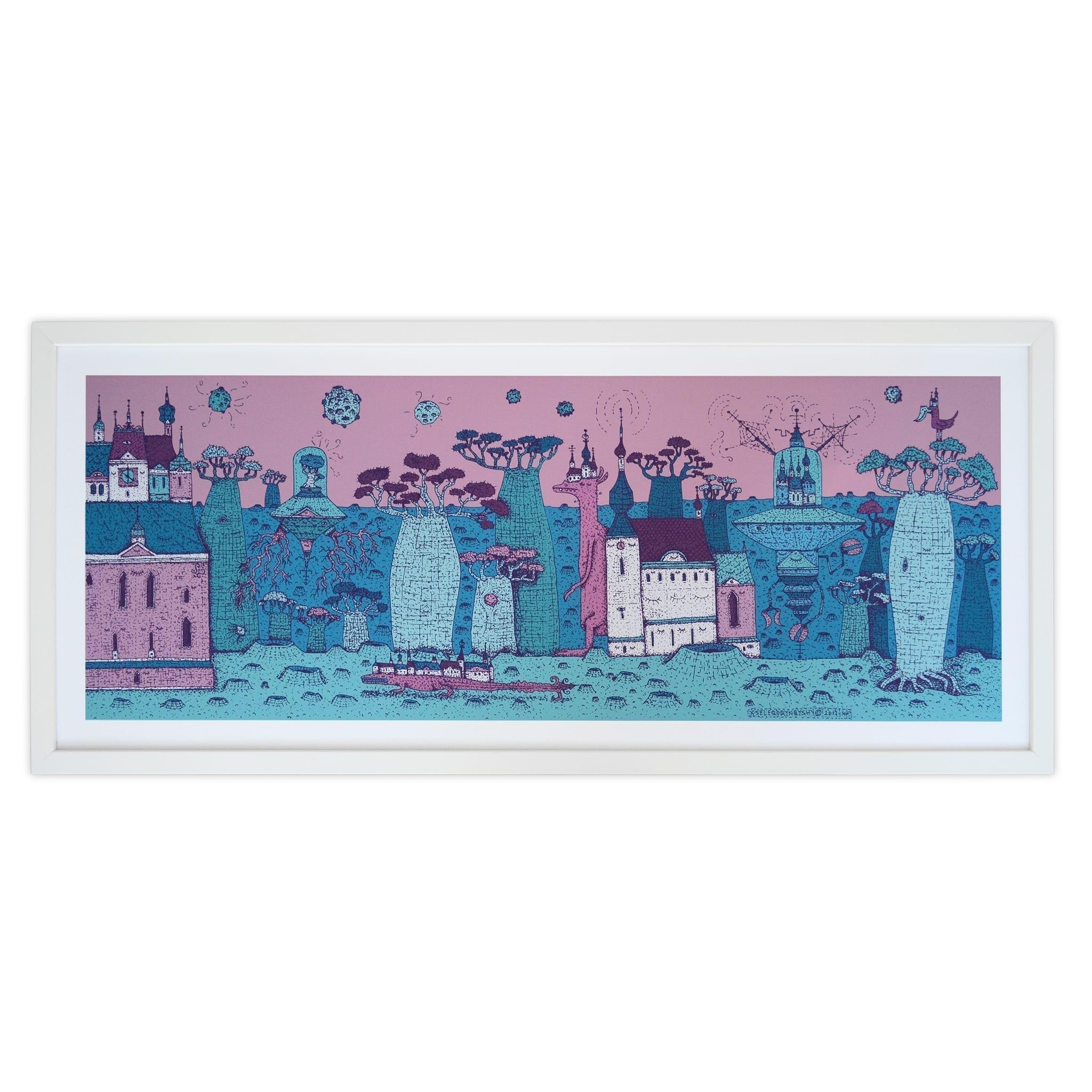 KSELEQOQYNQYSHY A glimpse of Socotra art print