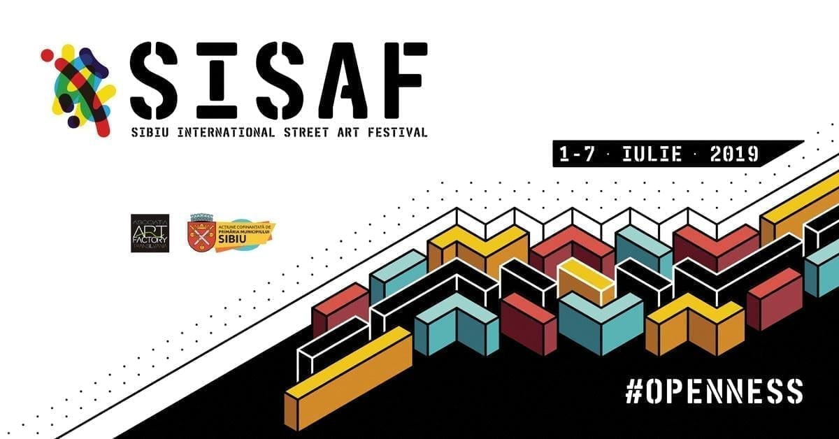 SISAF #5 - Sibiu International Street ART Festival 2019
