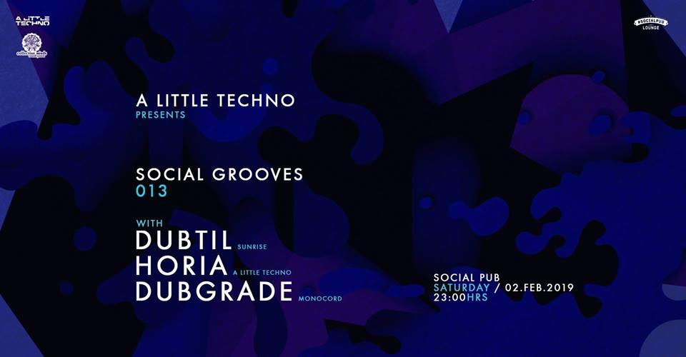 Social Grooves 13 w. Dubtil /Horia /Dubgrade