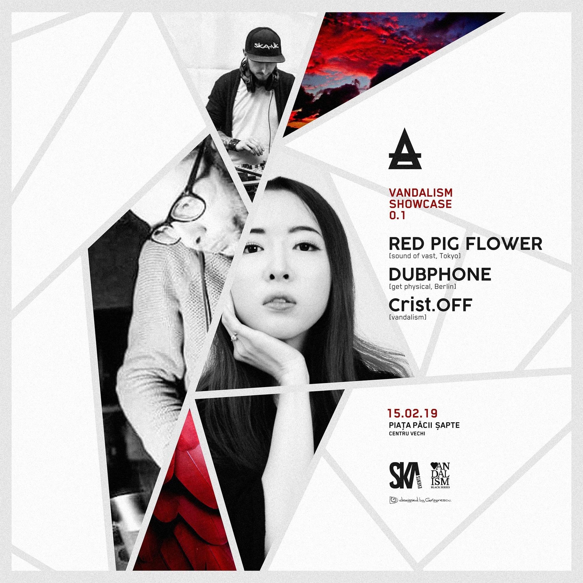 VM Showcase 0.1 - Red Pig Flower (Tokyo) x Dubphone x CristOFF @Taboo Pub &Club Baia Mare