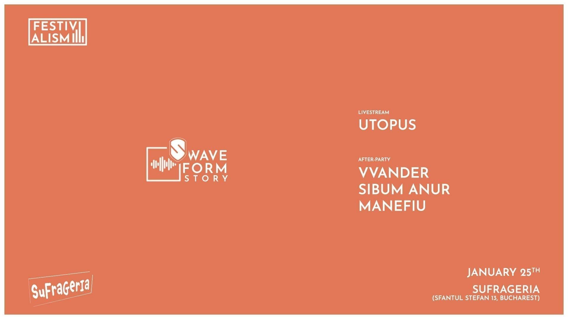 Waveform Story in Bucharest