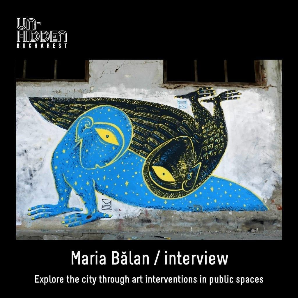 Maria Bălan - Interviu Un-hidden Bucharest