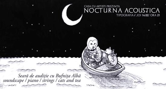 Nocturna Acoustica cu Bufnița Albă - Tipografia