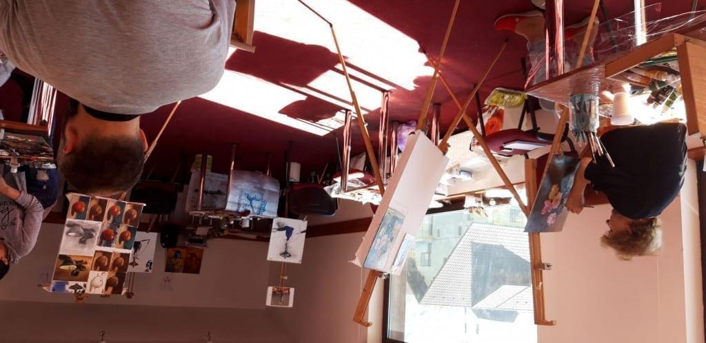 Atelier de pictura in weekend la Brasov