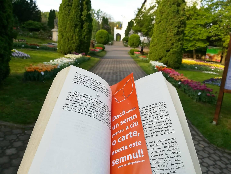 Intrare gratuită la Grădina Botanică cu o carte la tine - Cluj