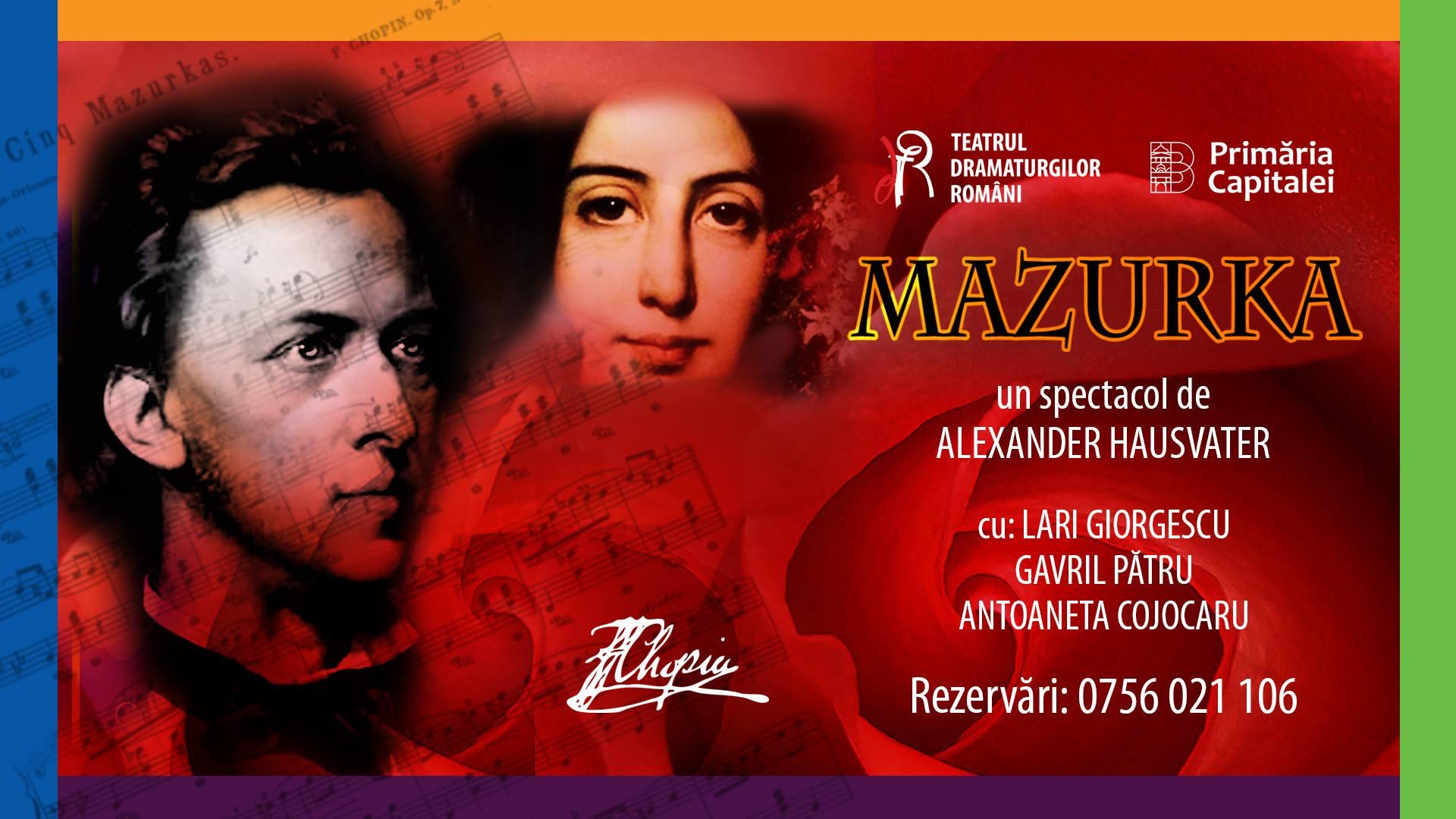 MAZURKA, un spectacol de Alexander Hausvater