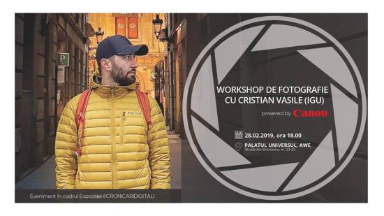 Workshop cu Igu: fotografia pentru social media