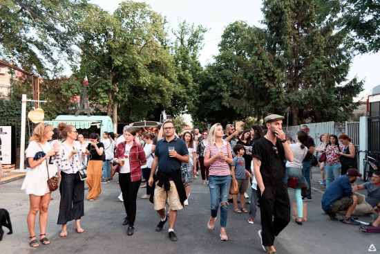 Femei pe Matasari street festival bucharest 2018