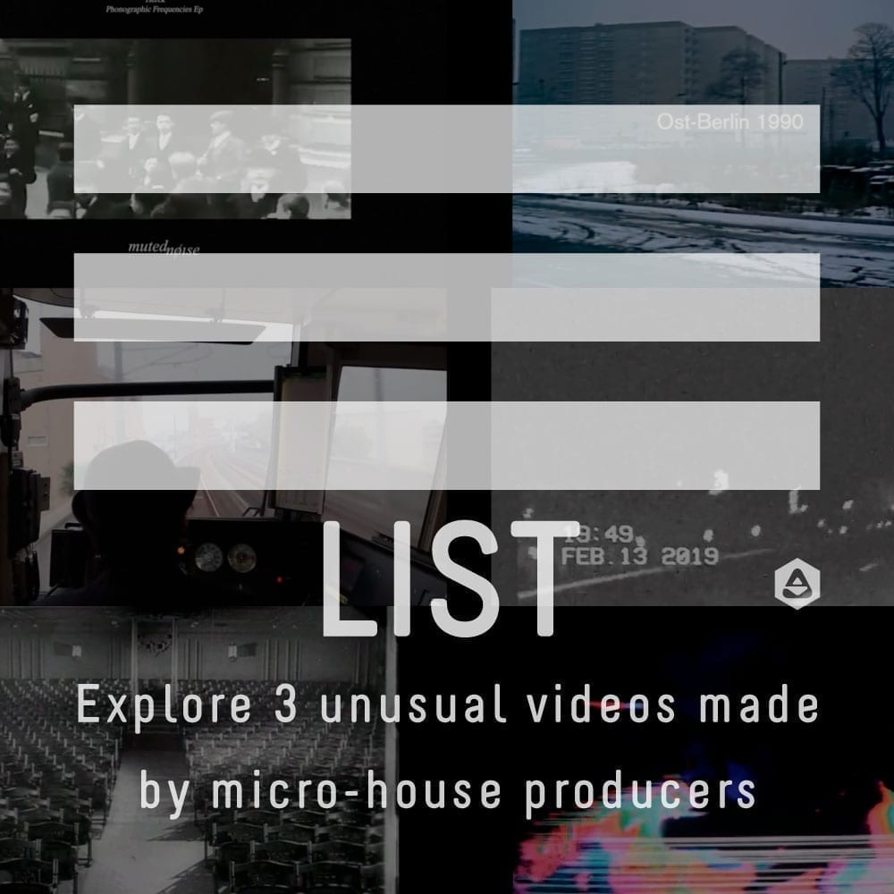Explore 3 unusual videos made by micro-house producers
