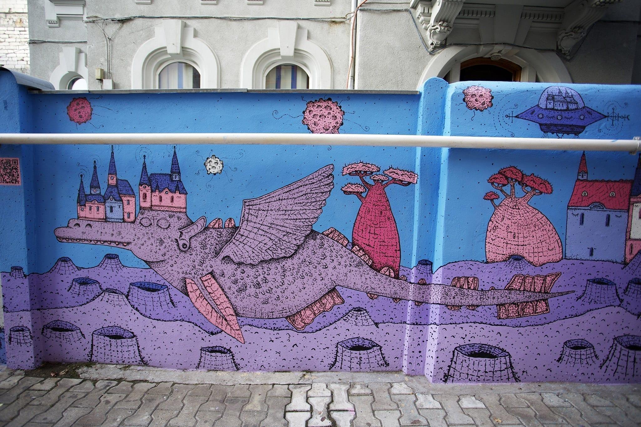 KSELEQOQYNQYSHY - Mural Un-hidden Bucharest II - 2018