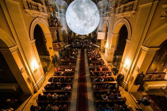 Lights on Romania 2018 Museum of the Moon © Vlad Cupşa ◘ komiti.media