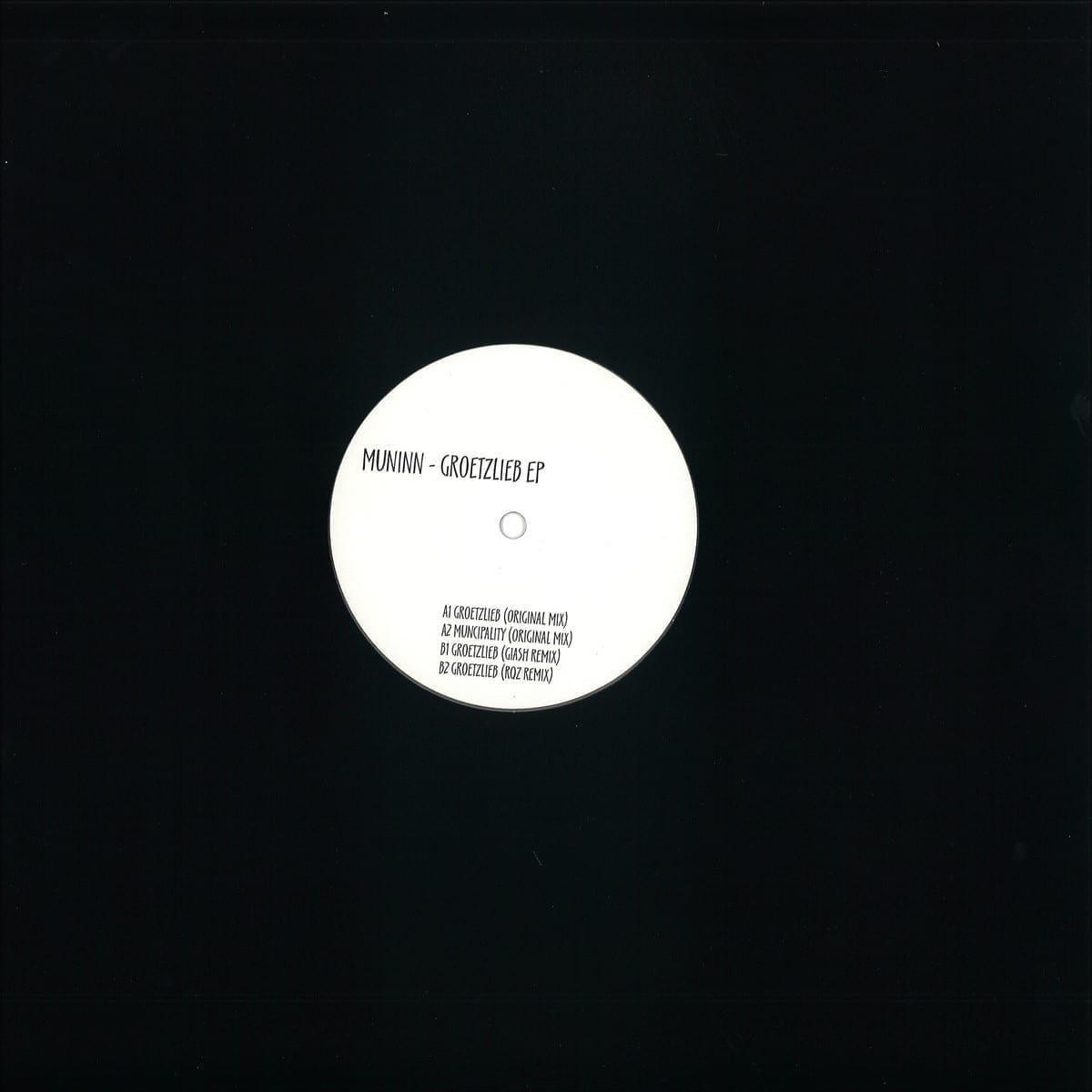 Muninn - Groetzlieb EP [Sobriquet Records] back