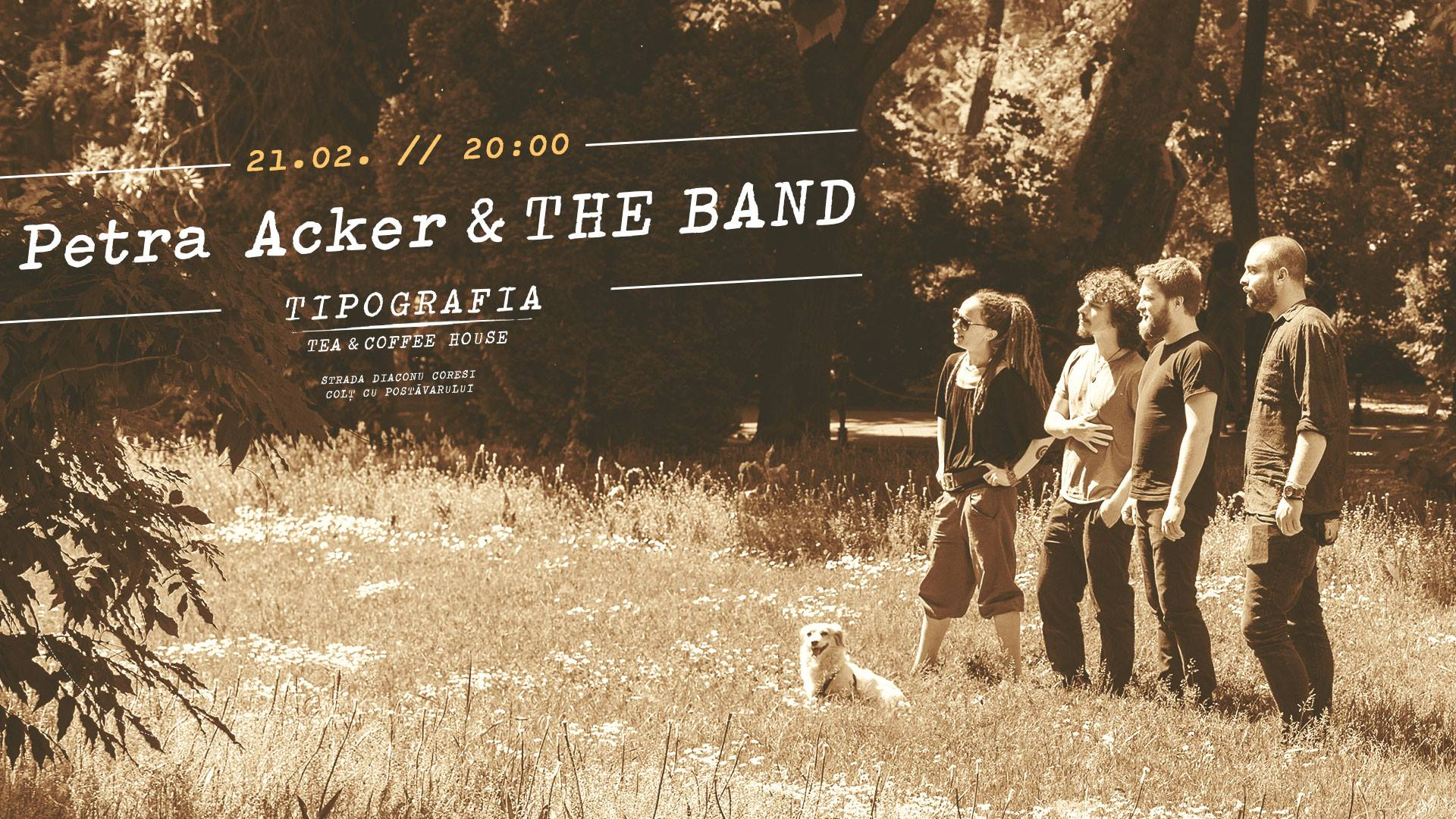 Petra Acker & the BAND - Tipografia