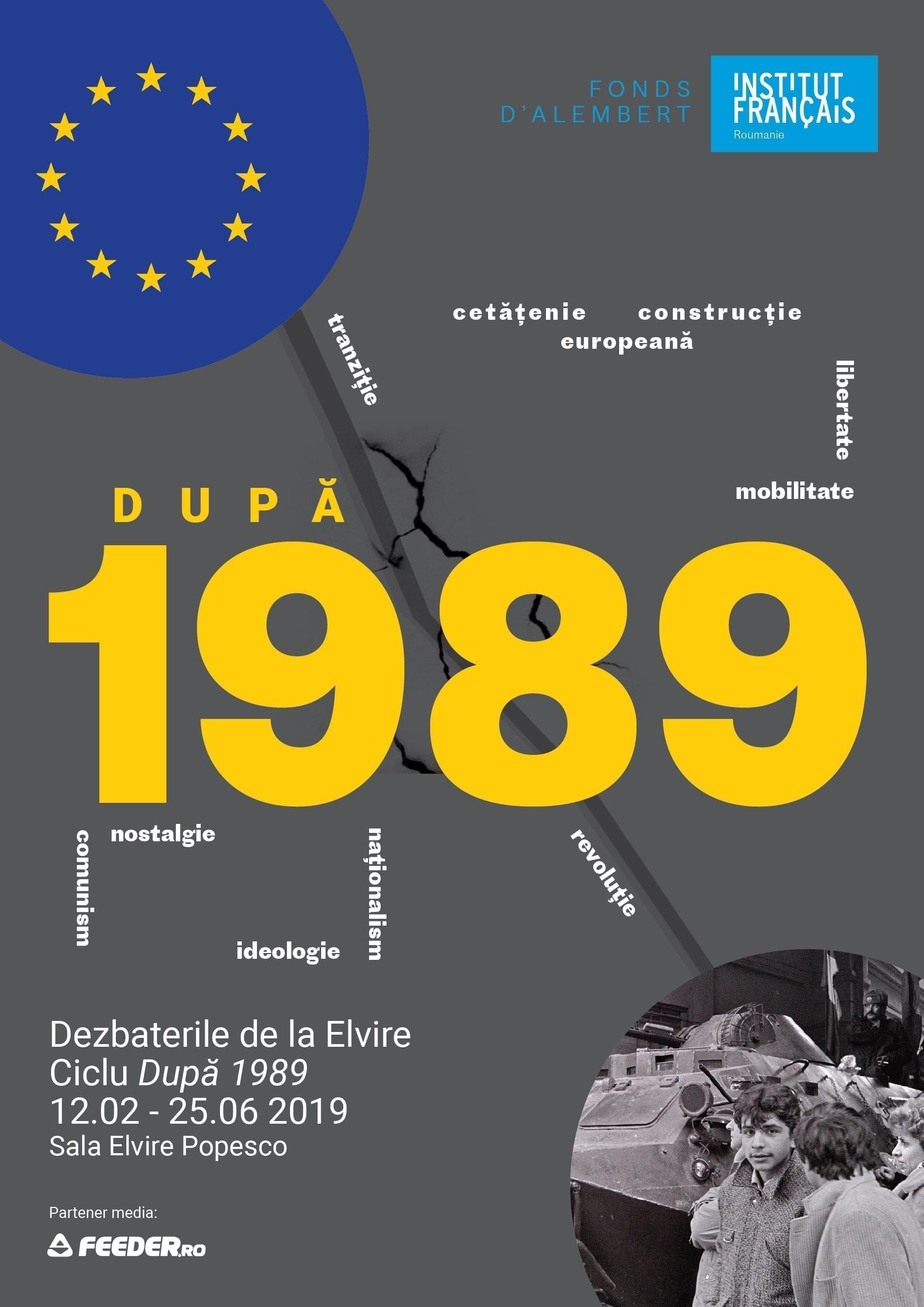 Punct de cotitura 1989: evenimente si dezbateri #IFRoumanie