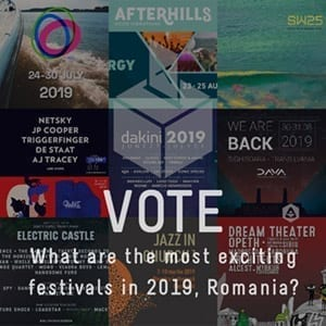 POLL: What are the most exciting festivals in Romania, 2019?