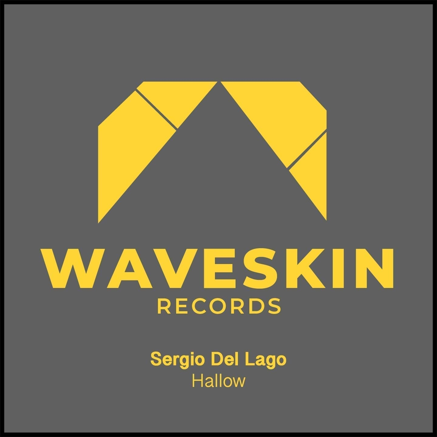 """Waveskin Records makes its debut with """"Hallow"""" by the Italian artist Sergio Del Lago"""