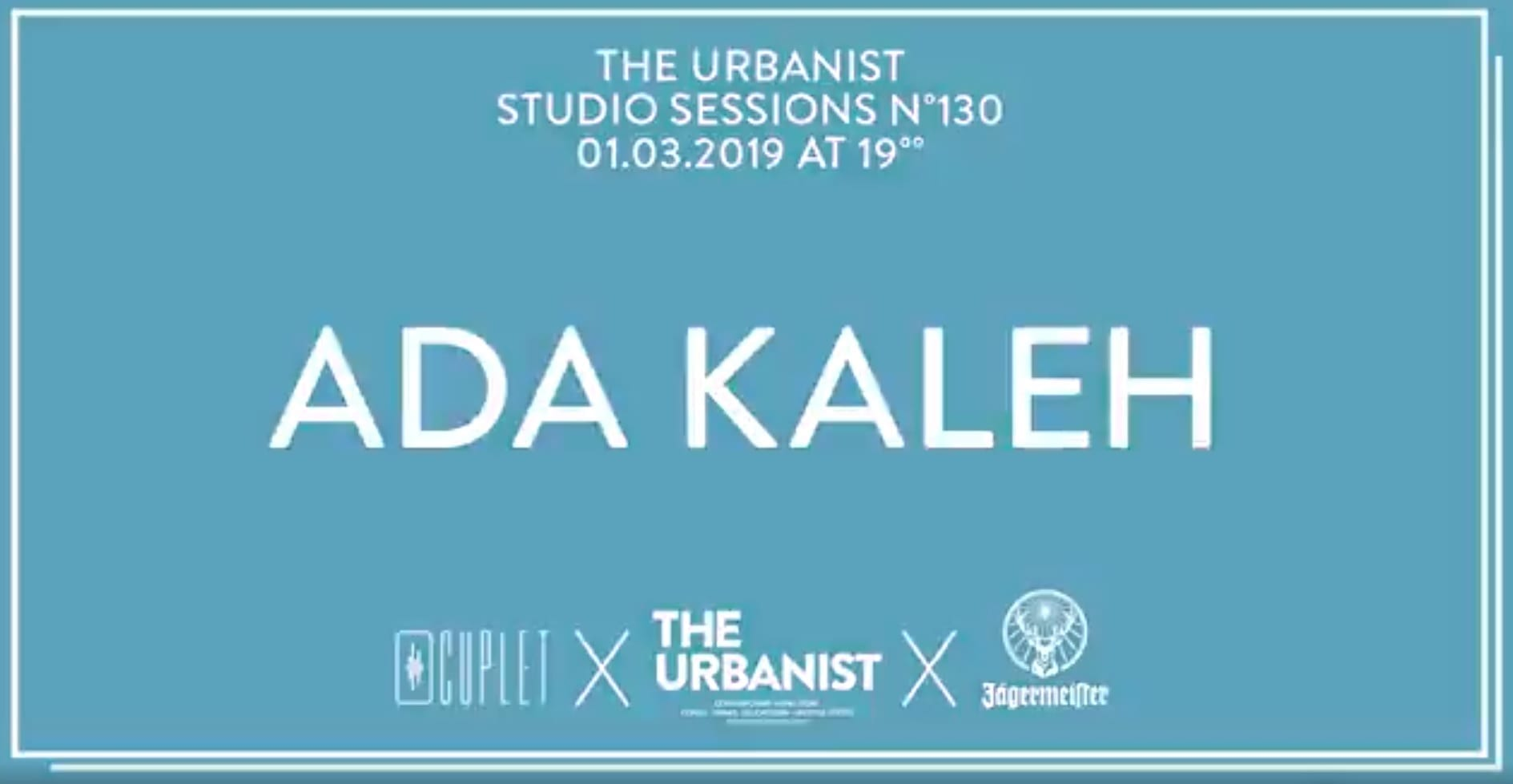 The Urbanist Studio Session N. 130 | Ada Kaleh