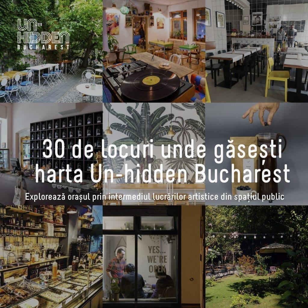 30 de locuri unde găsești harta Un-hidden Bucharest