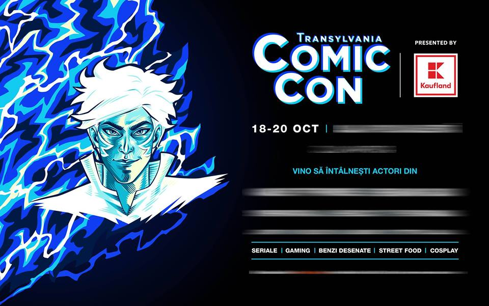 Transylvania Comic Con presented by Kaufland