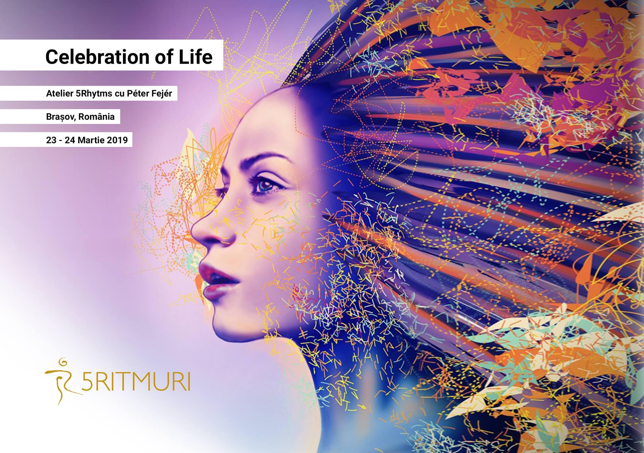 Celebration of Life - atelier 5Rhythms Brașov cu Péter Fejér