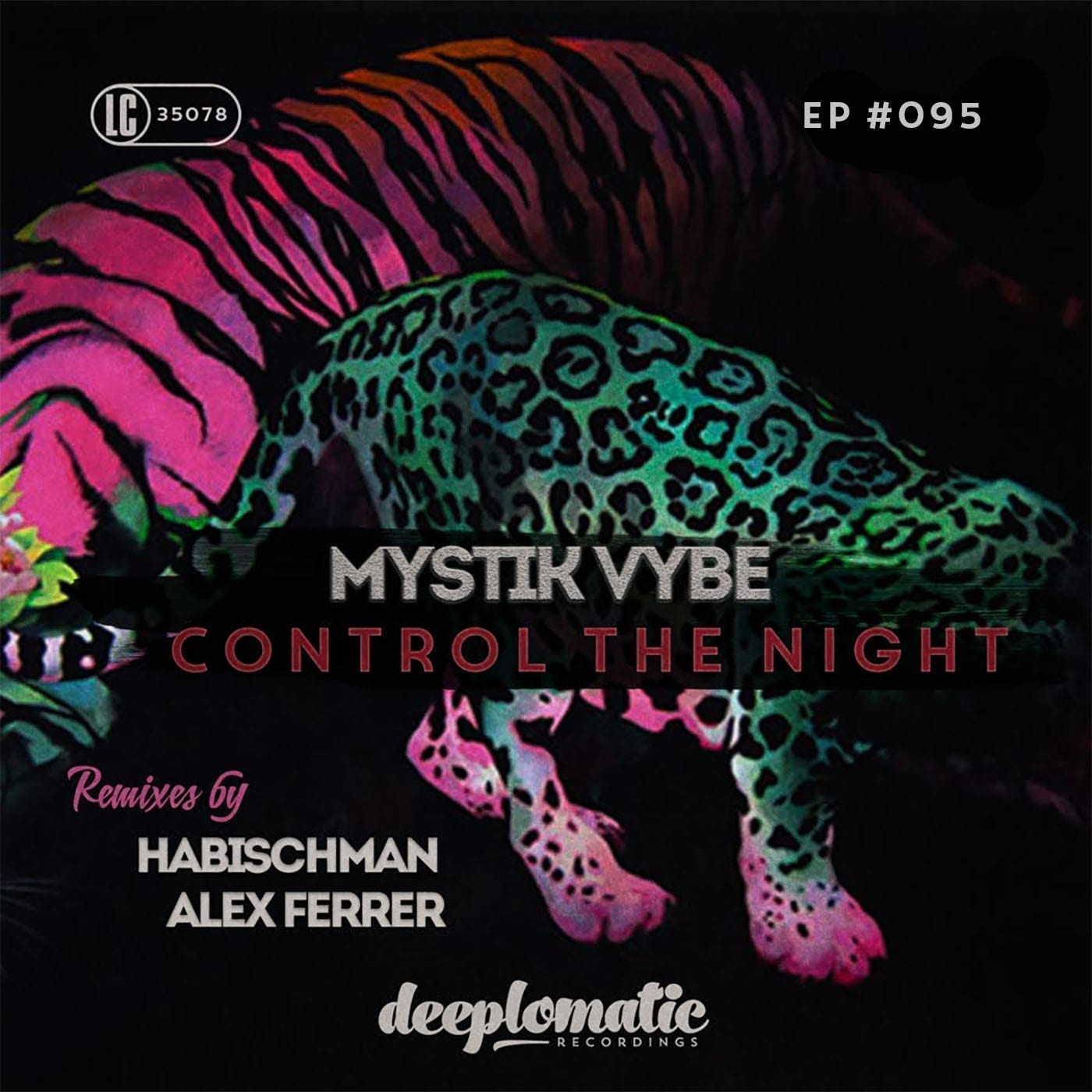 "Habischman & Alex Ferrer remix new Deeplomatic EP ""Control The Night"" by Mystik Vybe"