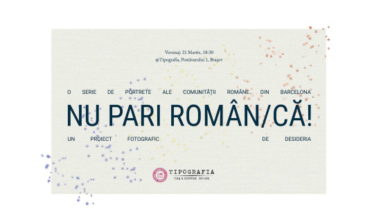 Nu pari român/că! - expoziție foto