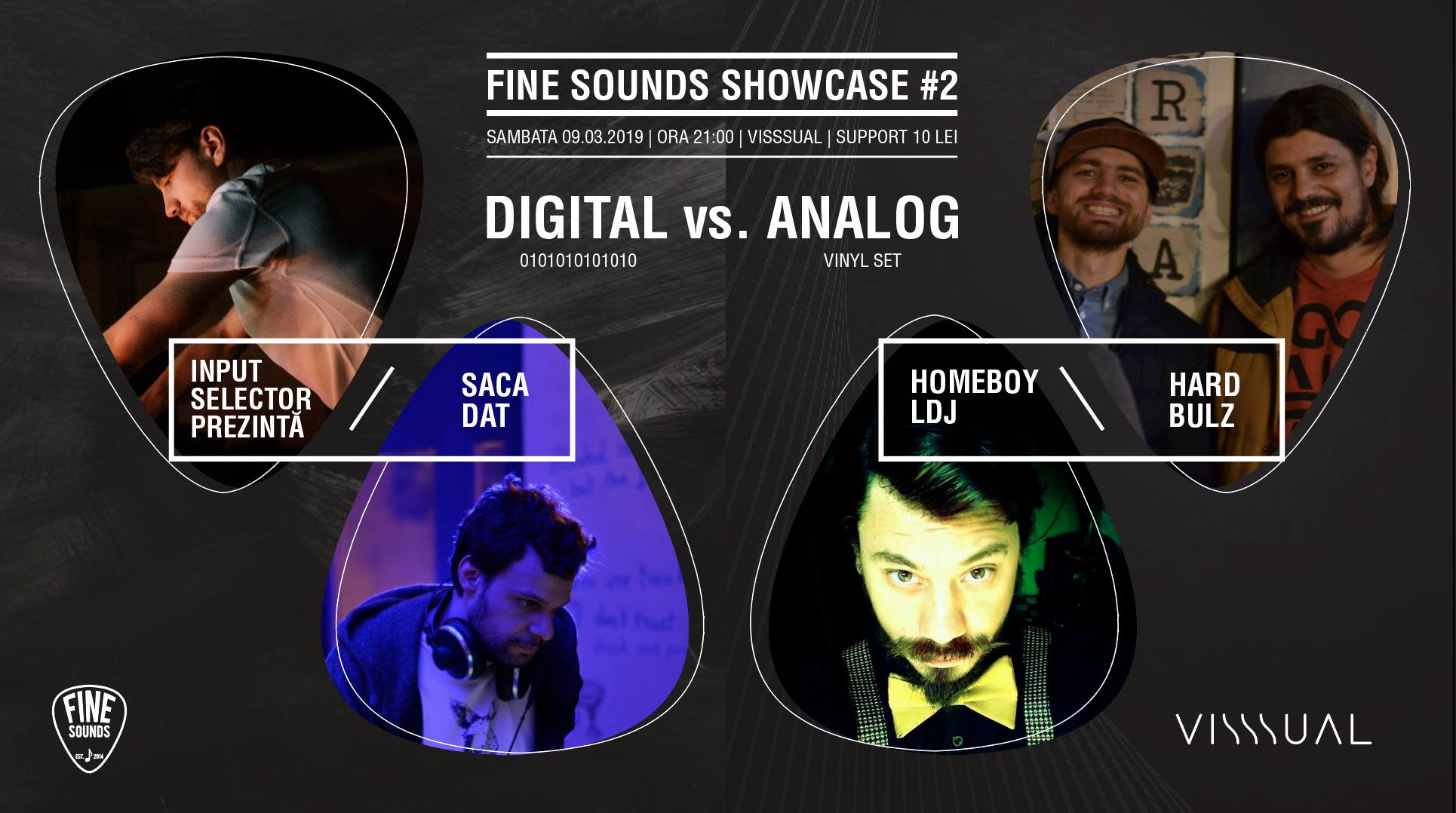 Fine Sounds Showcase [#2] @Visssual