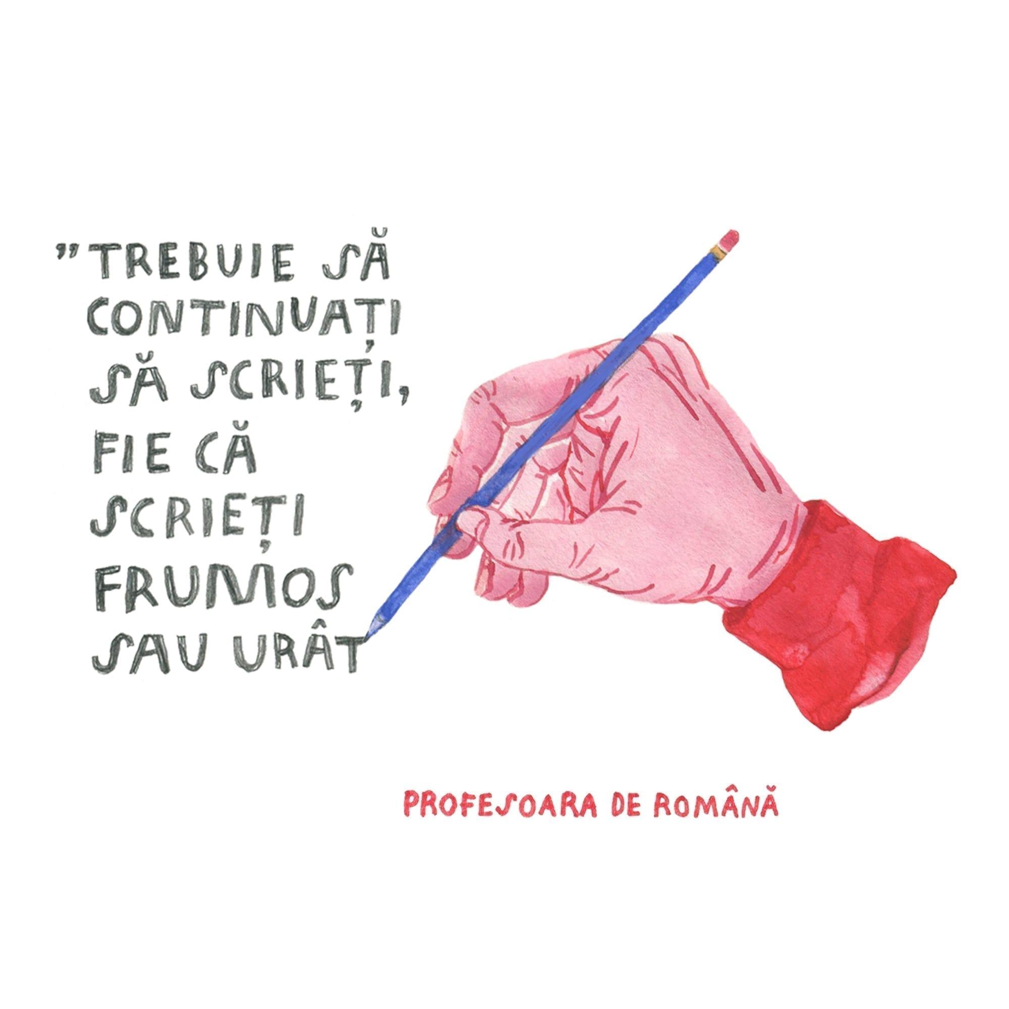 Alina Marinescu - Ilustrații despre școala mea pentru Școala9