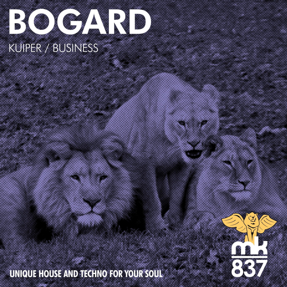 Bogard keeps rolling on with Kuiper / Business, out soon on MK837