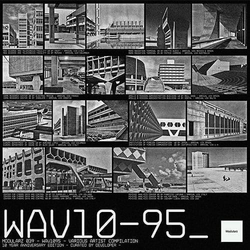 Modularz introduces a new compilation 'WAV10-95' honoring their 10th Anniversary