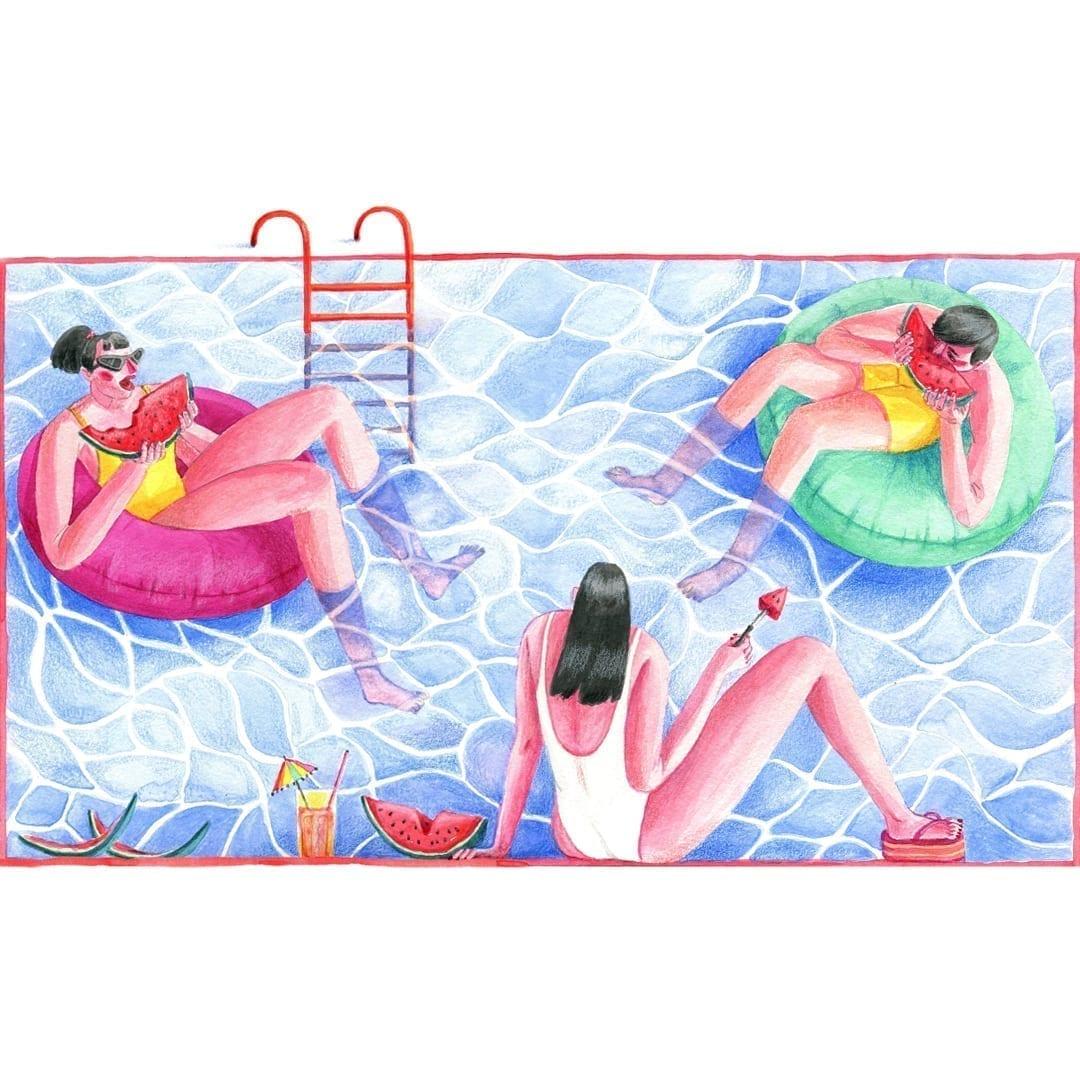 Planet Summer, Alina Marinescu