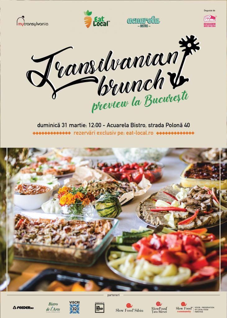 Transilvanian Brunch (preview) la Bucuresti