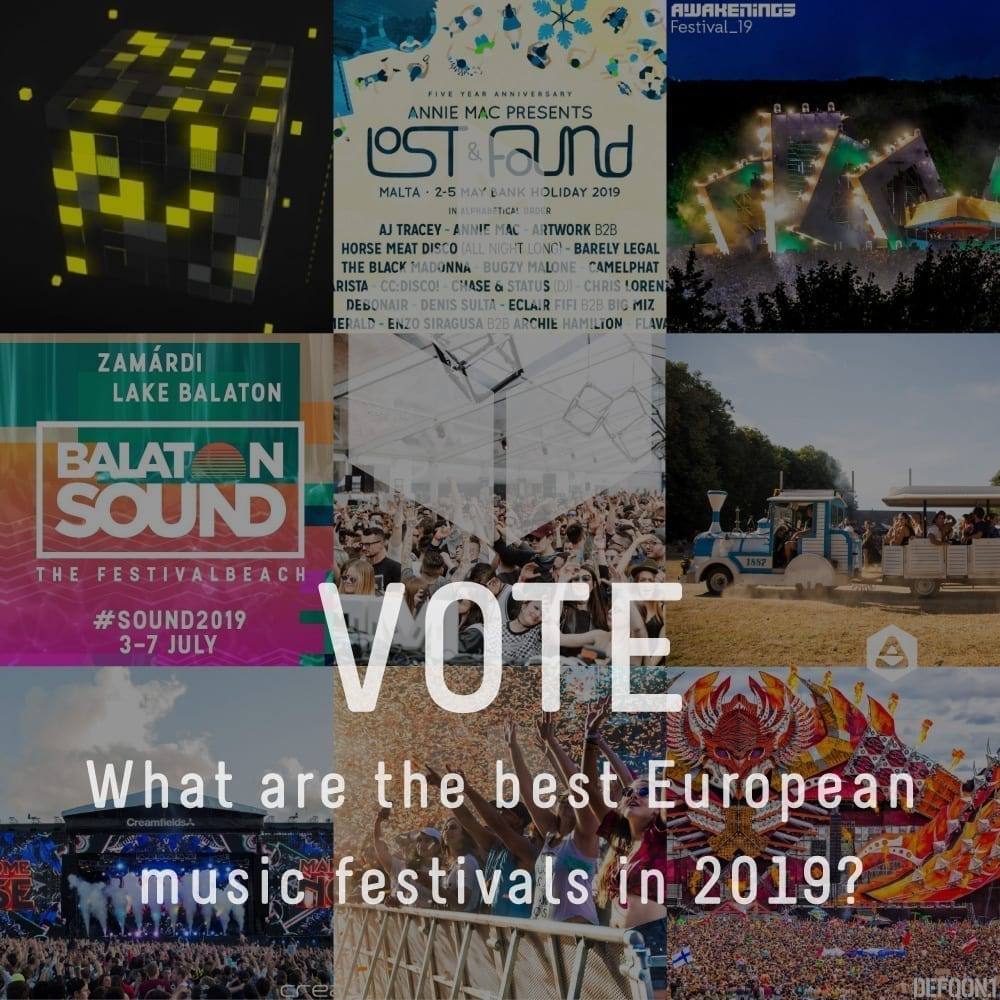 POLL: What are the most exciting music festivals in Europe, 2019?