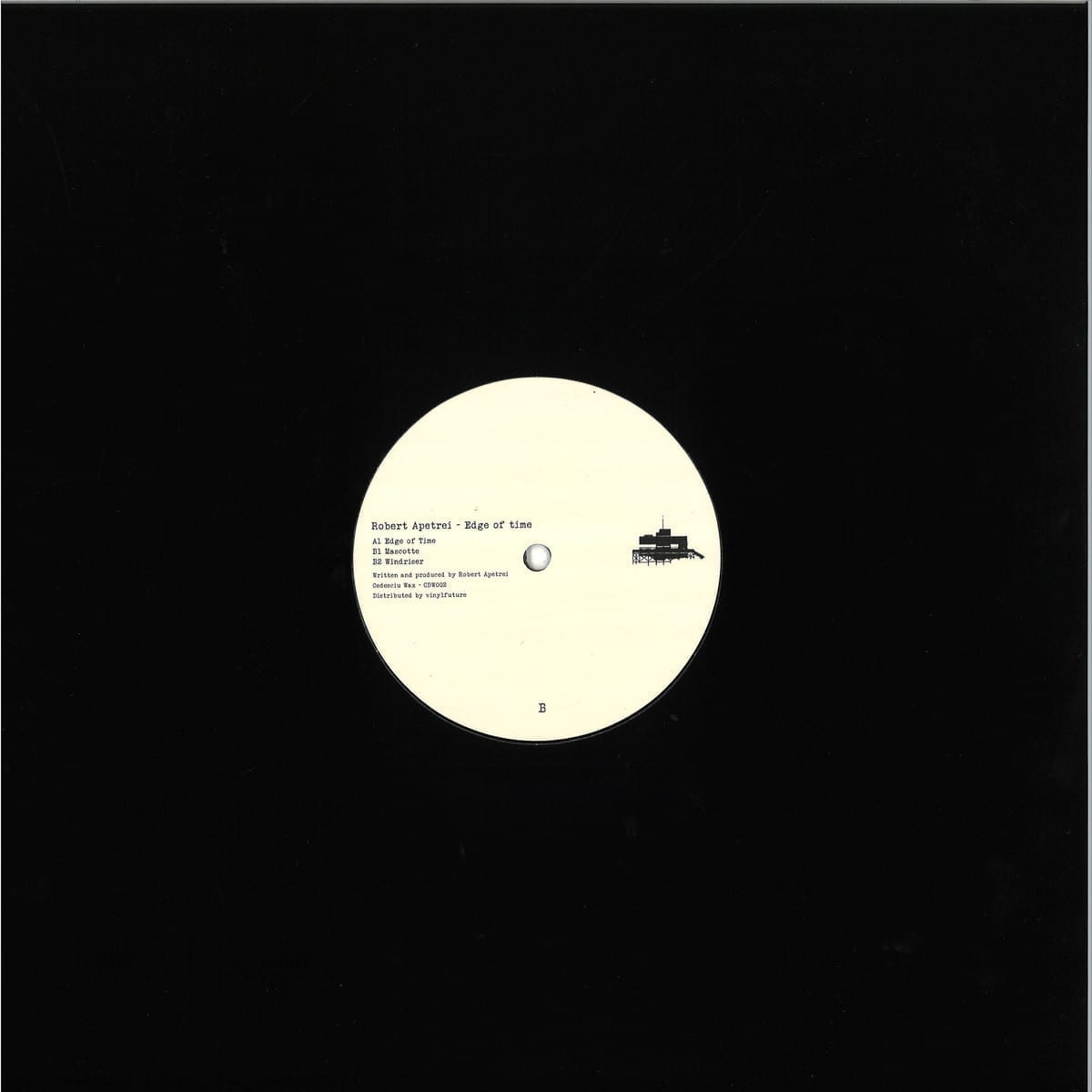robert apetrei - edge of time [cedesciu wax] back