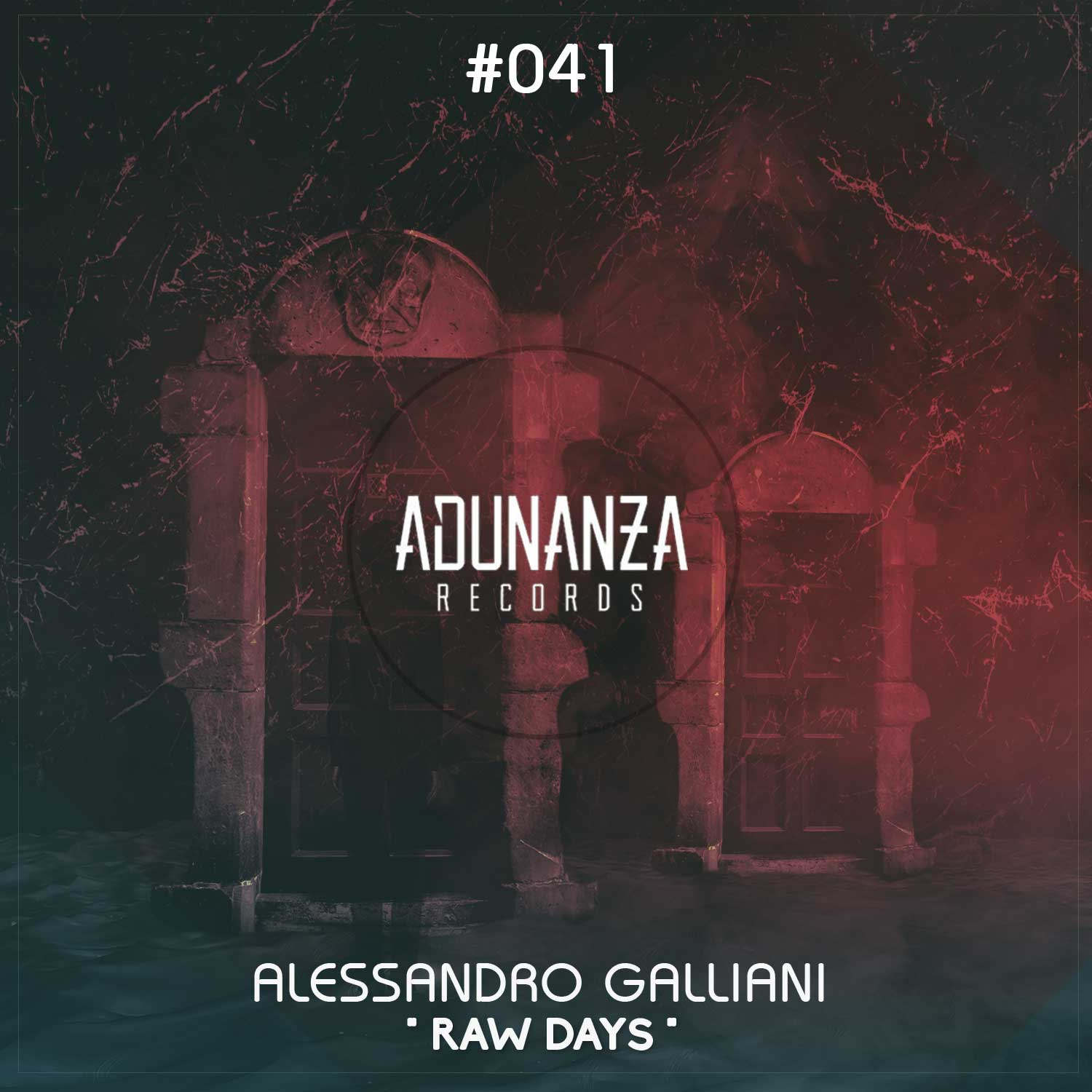 "Adunanza Records presents a new release by artist Alessandro Galliani, titled ""Raw Days"""
